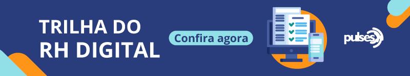 banner azul mostrando formulários na tela de um computador em referência ao rh estratégico digital